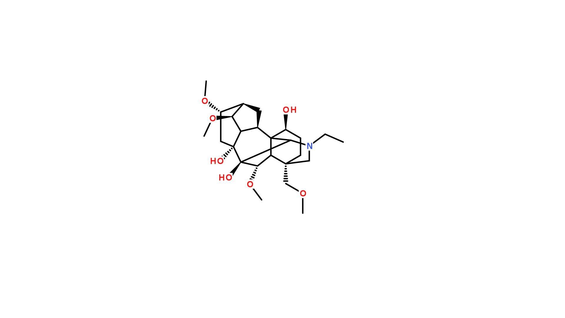 Delsoline 509-18-2