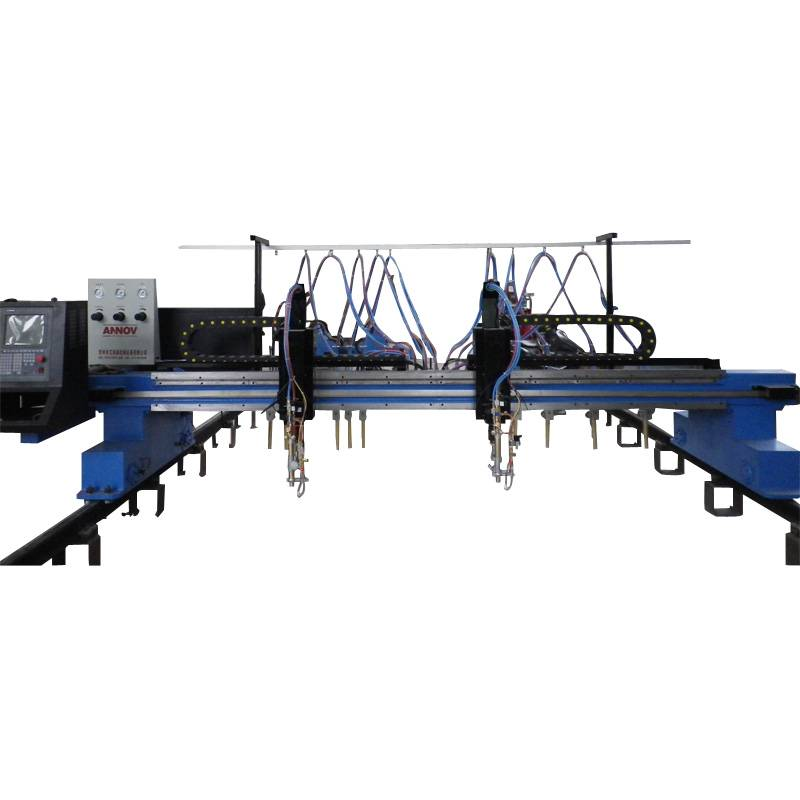 8000mm cnc plasma/flame gantry heavy cutter