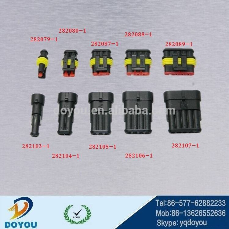 1.5 series Male and female electrical connectors automotive electric female Tyco replacement connect