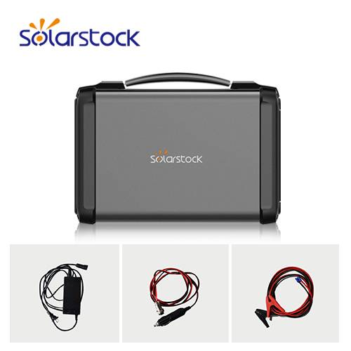 500W Portable Solar Generator Power System