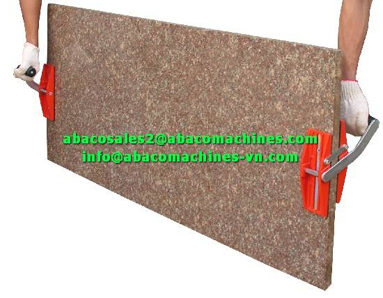 MARBLE GRANITE SLAB HANDED CARRY CLAMPS - ABACO -