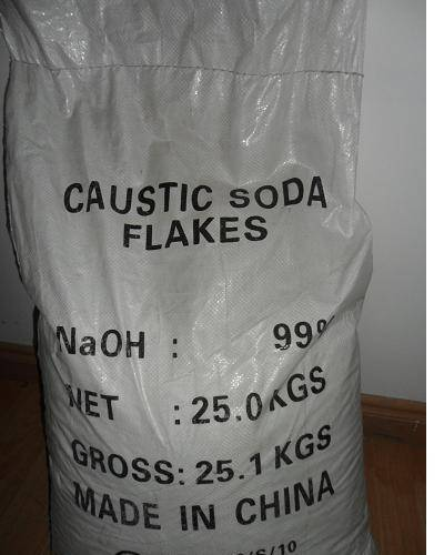 caustic soda flakes min 98..5%