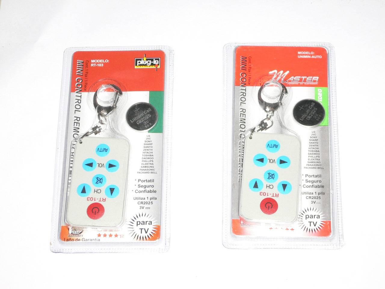 mini universal remote control