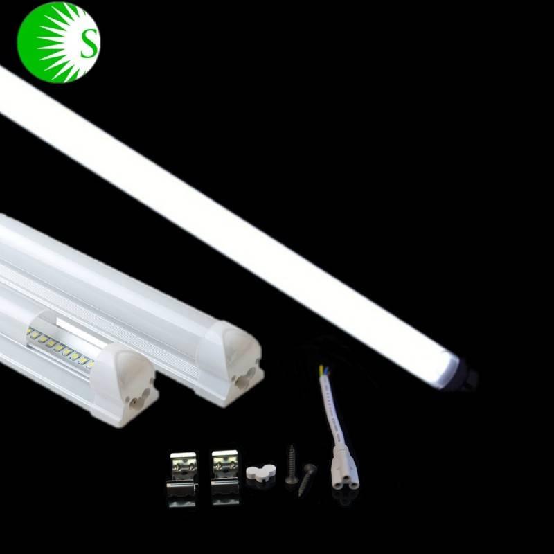LED tube light wide voltage AC85-265V CRI80 Epister led SMD2835 t5 led tube light