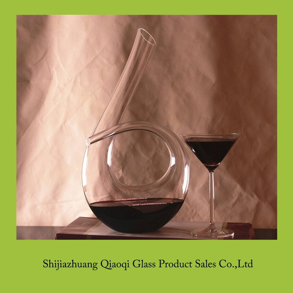 High quality Crystal Glass Wine Decanter