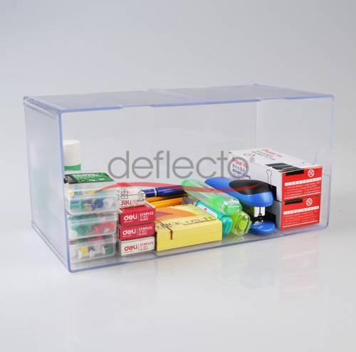 Deflect-o Acrylic Storage Boxes
