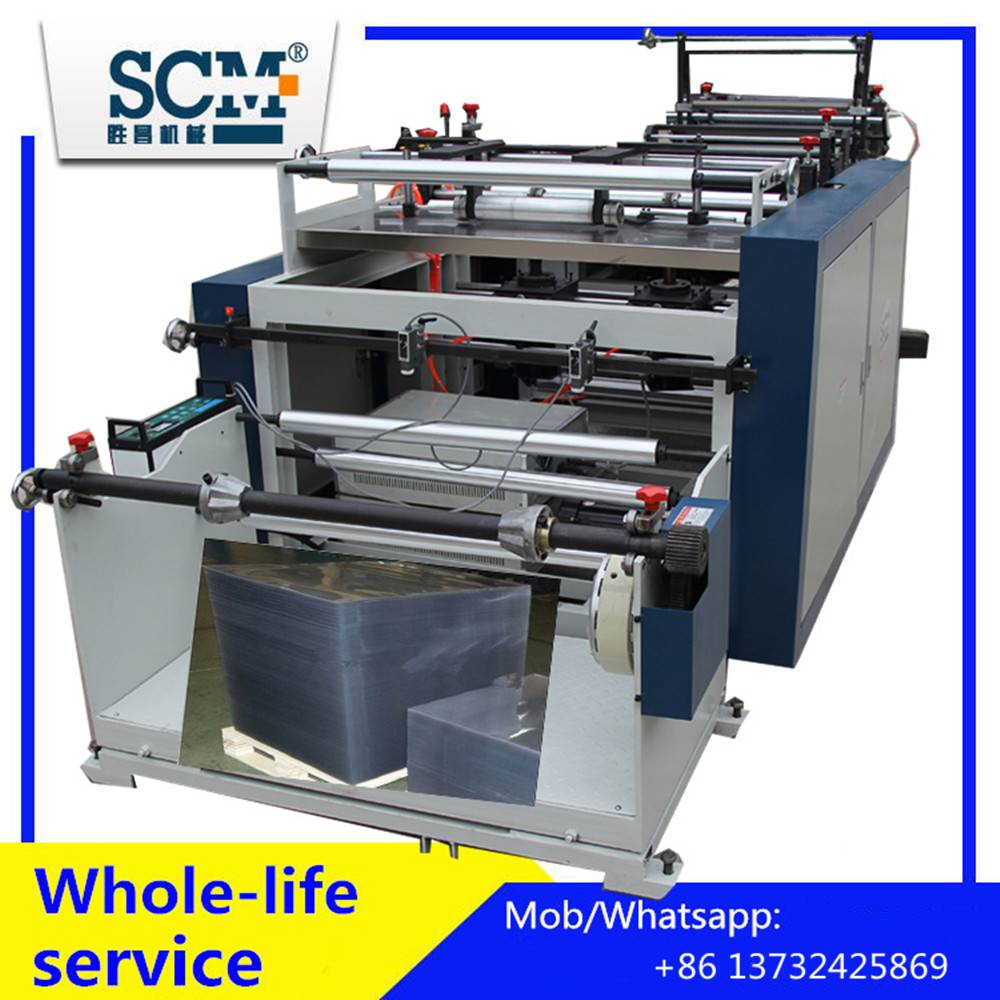 Automatic PVC/film/paper roll to Sheet Cutting Machine