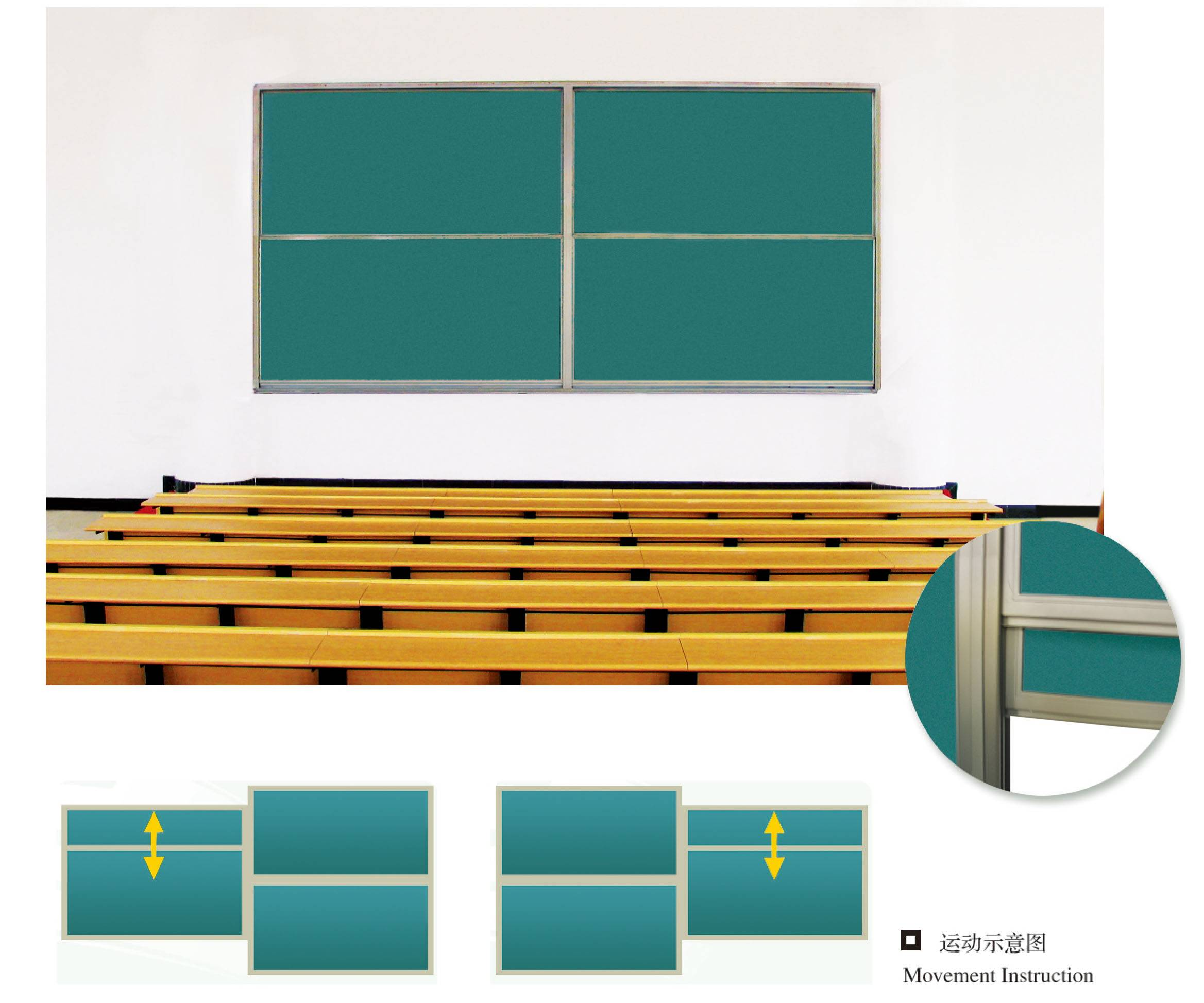 Supply School and Office Blackboard , Chalkboard, Greenboard from China
