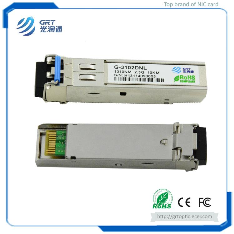 G-3102DNL SFP+ 2.5G 10km 1310nm singlemode Fiber Optical Transceiver Module