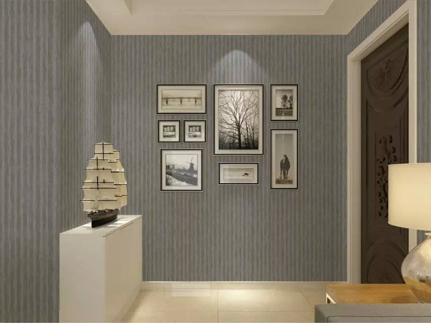New Collection European Style Home Interior Decoration Nonwoven Wallpaper