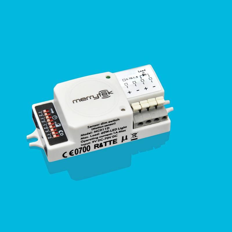microwave motion sensor, on-off switch DC operation MC011D1