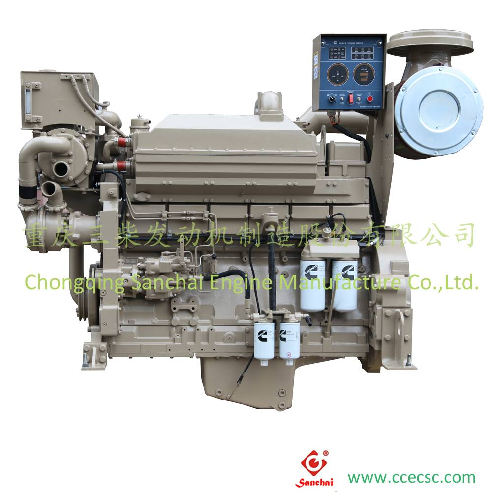 Sanchai Cummins KTA19 Marine Diesel Engine