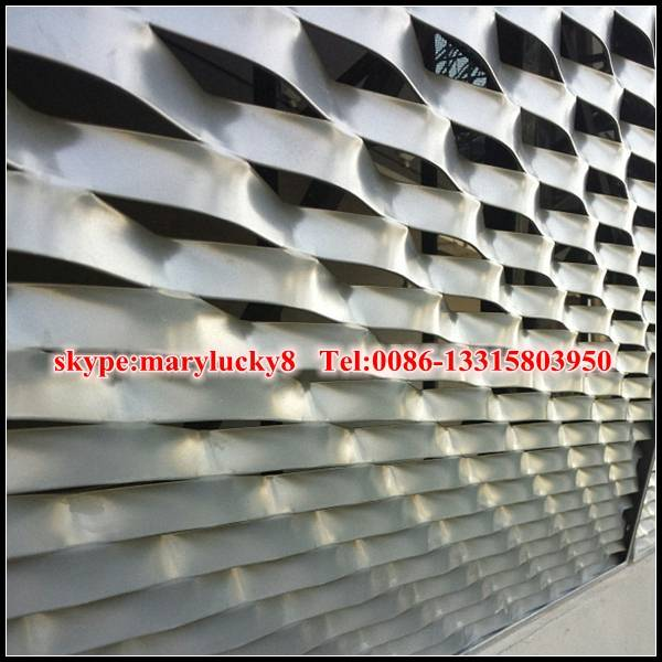 architectural Aluminum expanded mesh