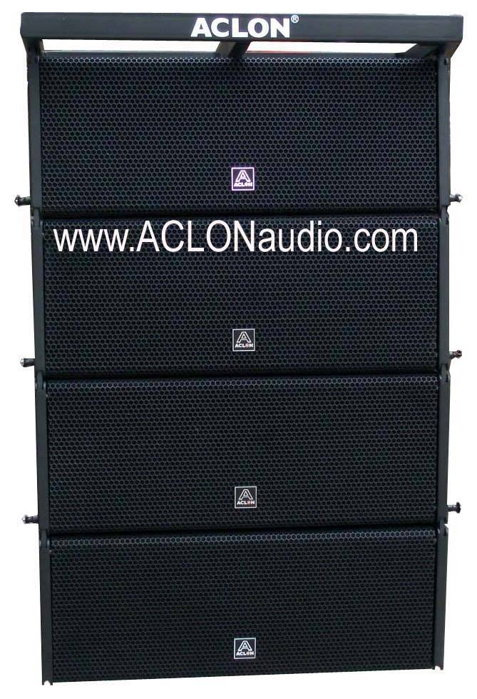 Dual 10 Inch Compact Active Line Array (LAT210A)