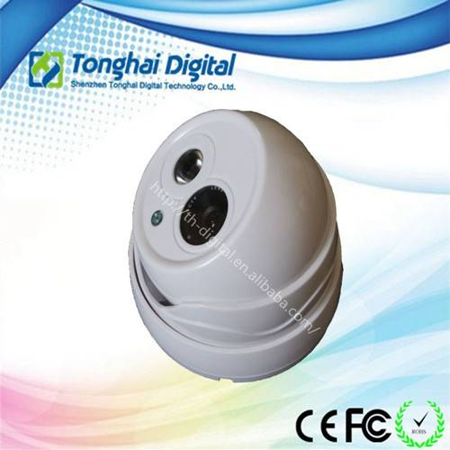 1.0MP 720P  Plastic Dome IR IP Camera cheap dome camera