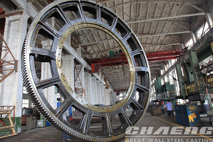 Ball mill ring gear 2-14m