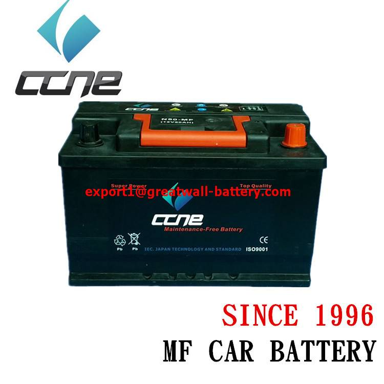 12v 50AH N50L 48D26L LEAD ACID CAR BATTERY REPLACEMENT IN LONDON