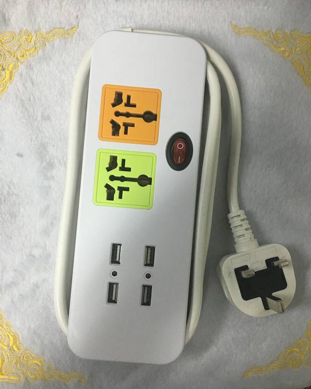Electrical extension power socket power strip Universal plug socket