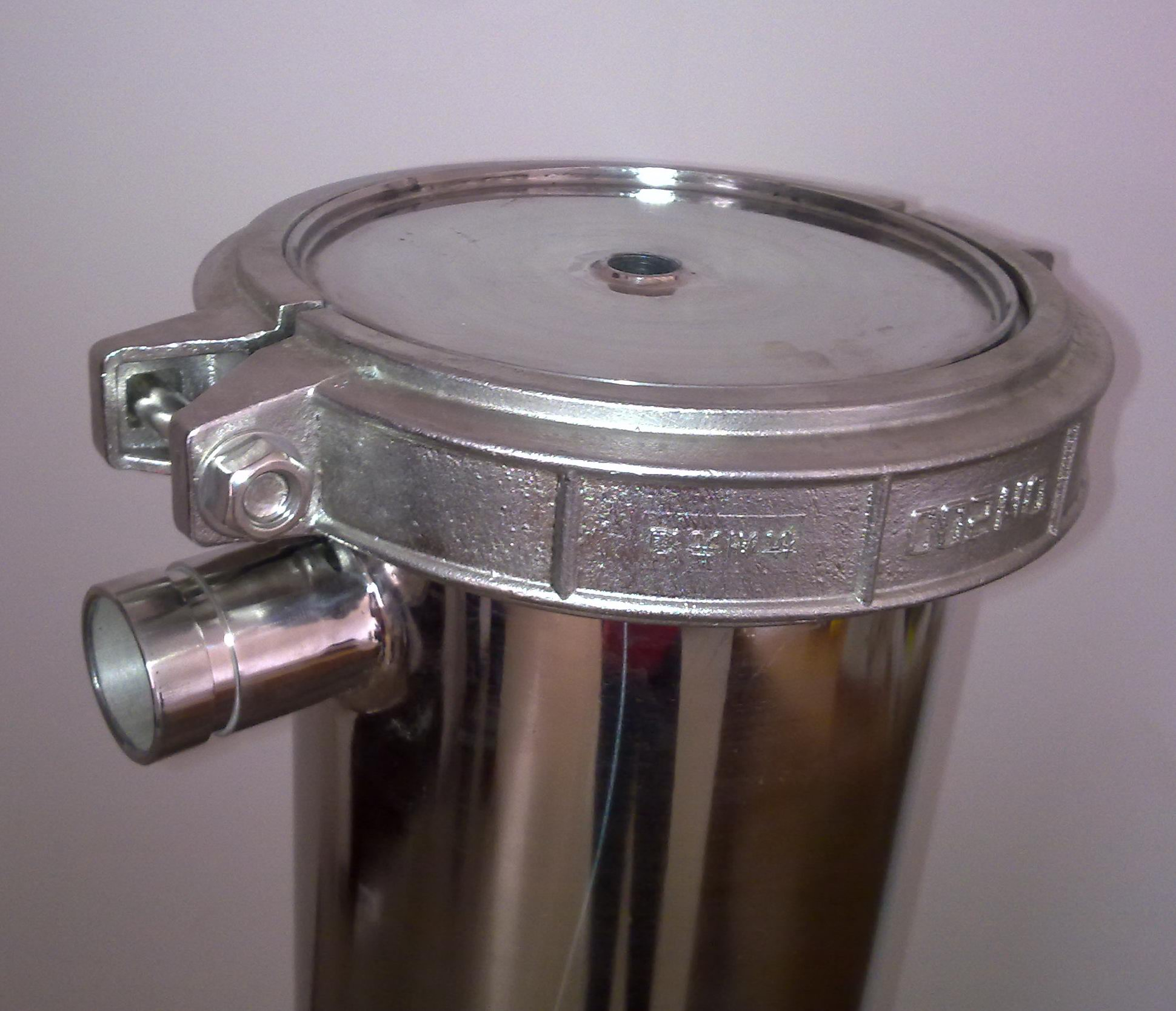 Stainless Steel Housing for Sanitary Use