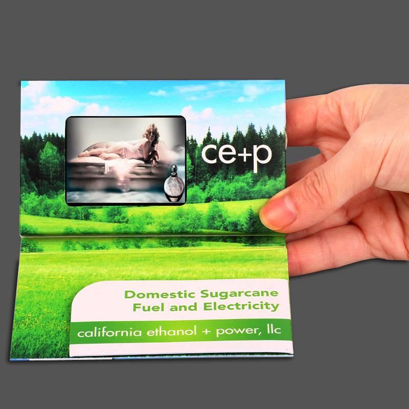 "innovative 2.4""invitation lcd video greeting card"