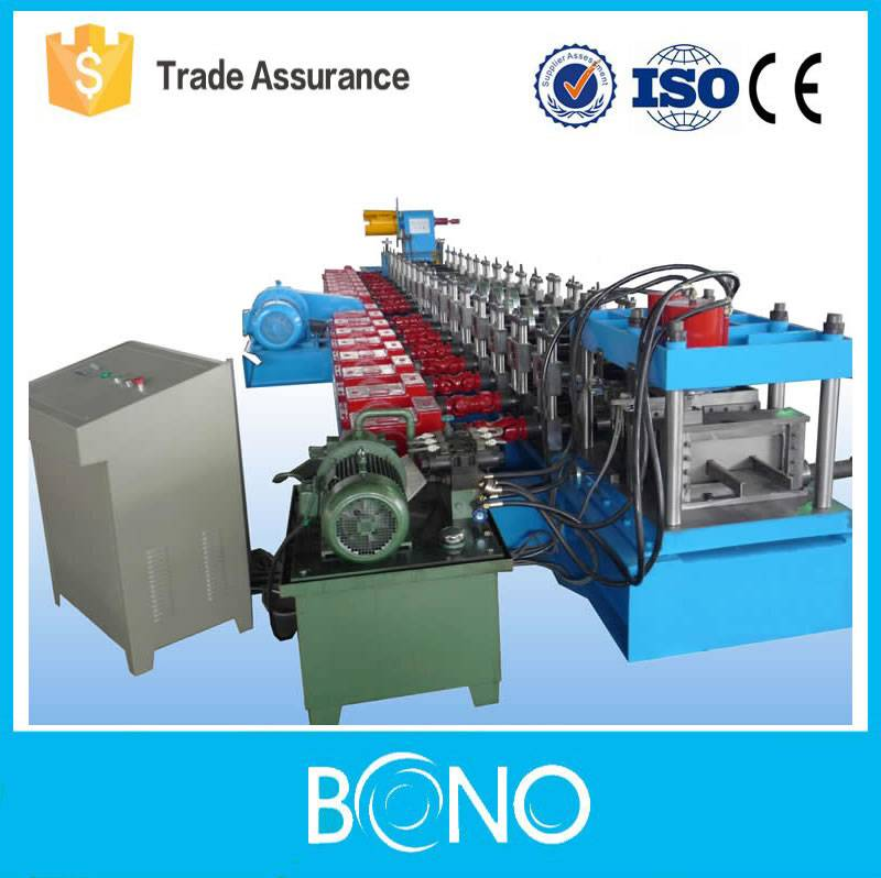 Top quality C Purlin Steel Roll Forming Machine