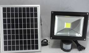 2015 new solar charged LED flood lamp 20W outdoor IP65