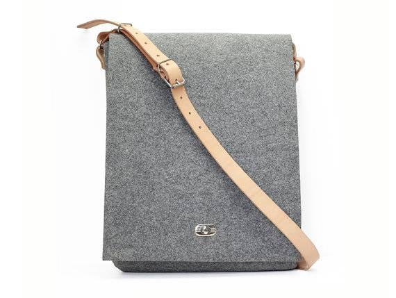 Felt Shoulder Bags Laptop Bags School Bags Shoulder Bags Feltro/Feltro Laptop Bag/Filz Laptoptasche/