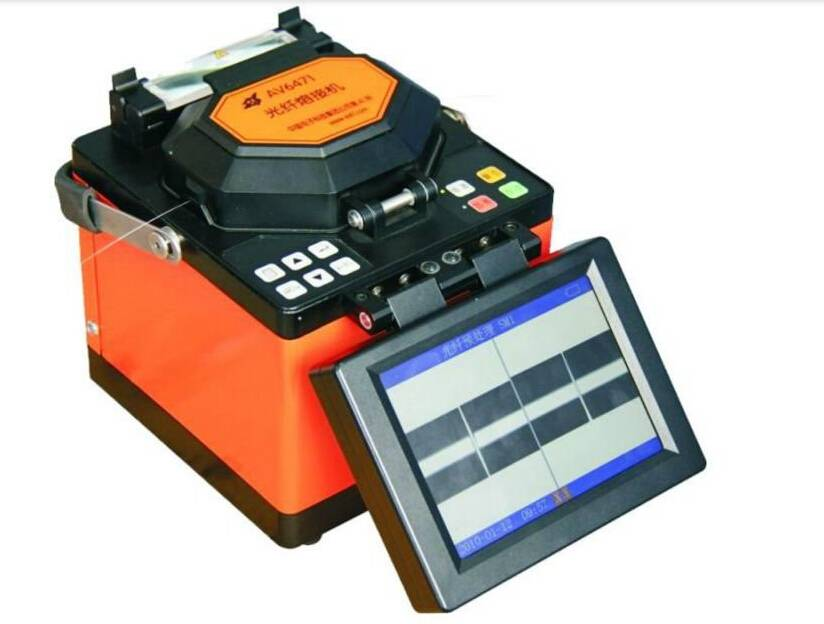 High quality AV6471 FTTH indoor optical fiber fusion splicer