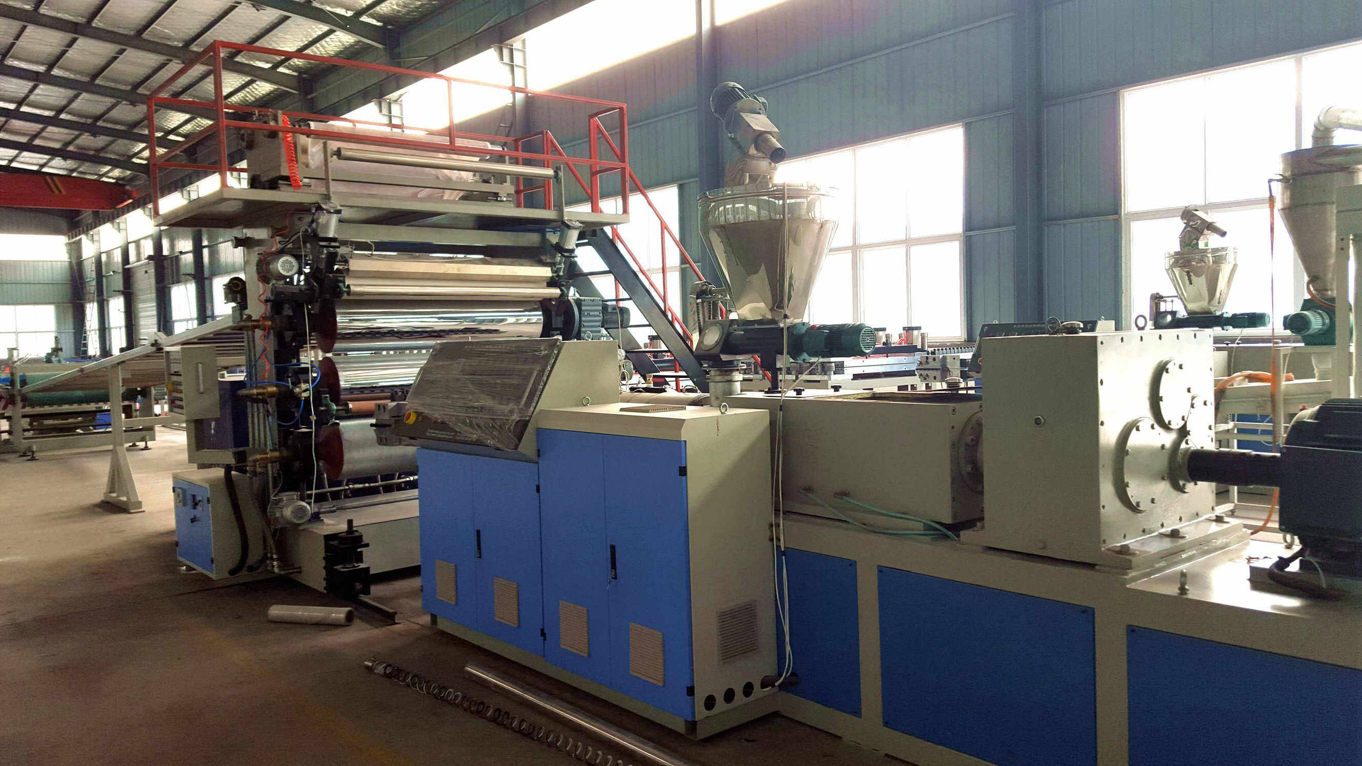 Imitated PVC Marbleized Household Wall Panel Extrusion Machine