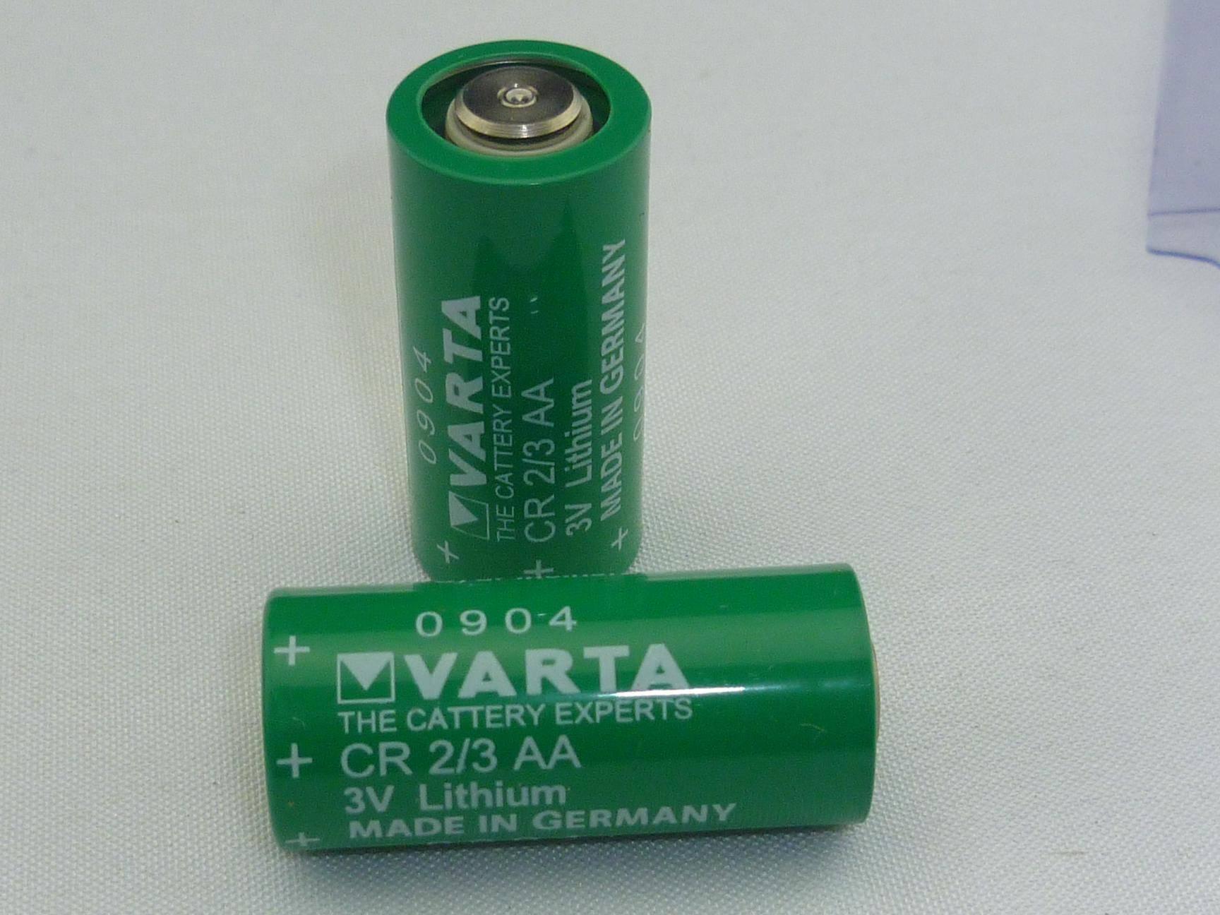 3V Lithium Battery CR2/3AA(VARTA)