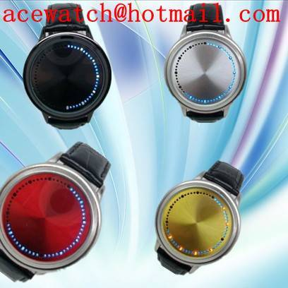LED touch screen watch LED gift watch OEM