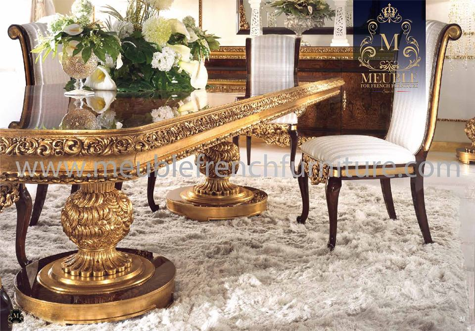 Tuskany Classic French Style Dining Room Set