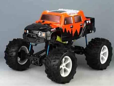 1/8 Nitro Powered Monster Truck