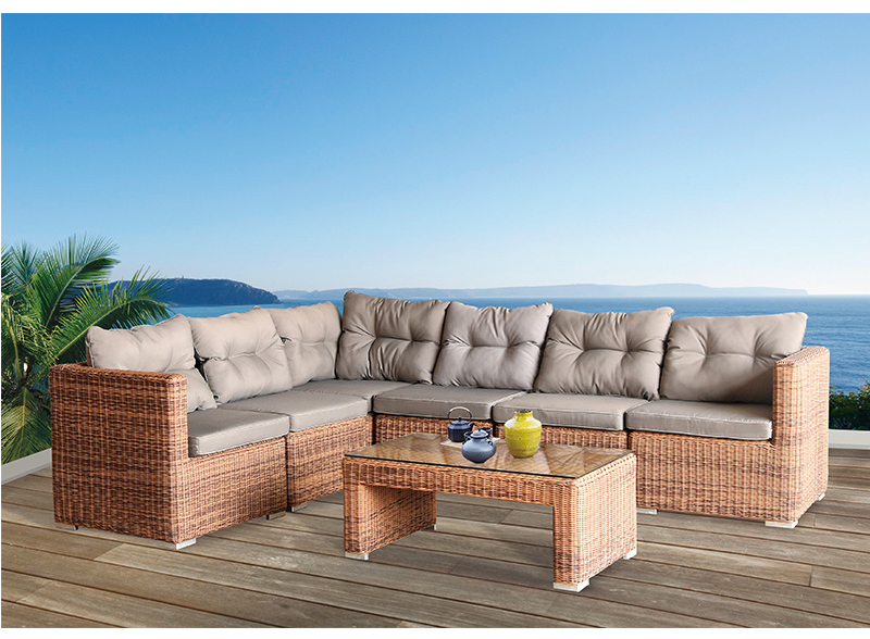hormel furniture outdoor garden patio sofa set