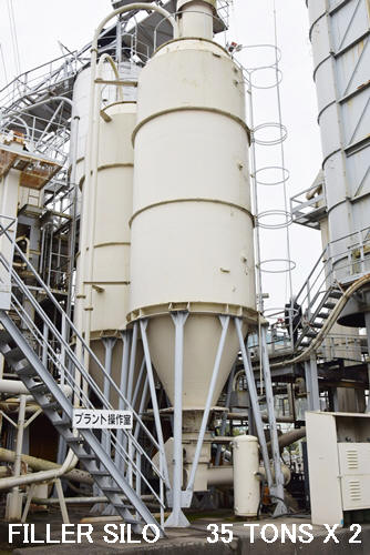 FILLER SILO CAPACITY 35 TONS X 2 SETS