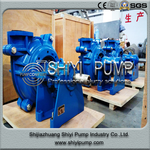 Mineral Processing Centrifugal Slurry Pump Water Treatment Centrifugal