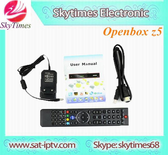 Full HD PVR receiver original Openbox Z5 HD Support Free IPTV, Youtube/Youporn, DHLA