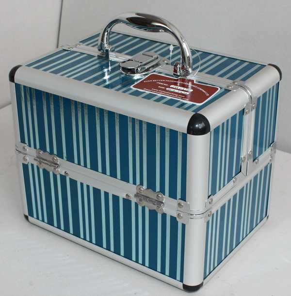 Carrying Beauty Case with Extendable Trays
