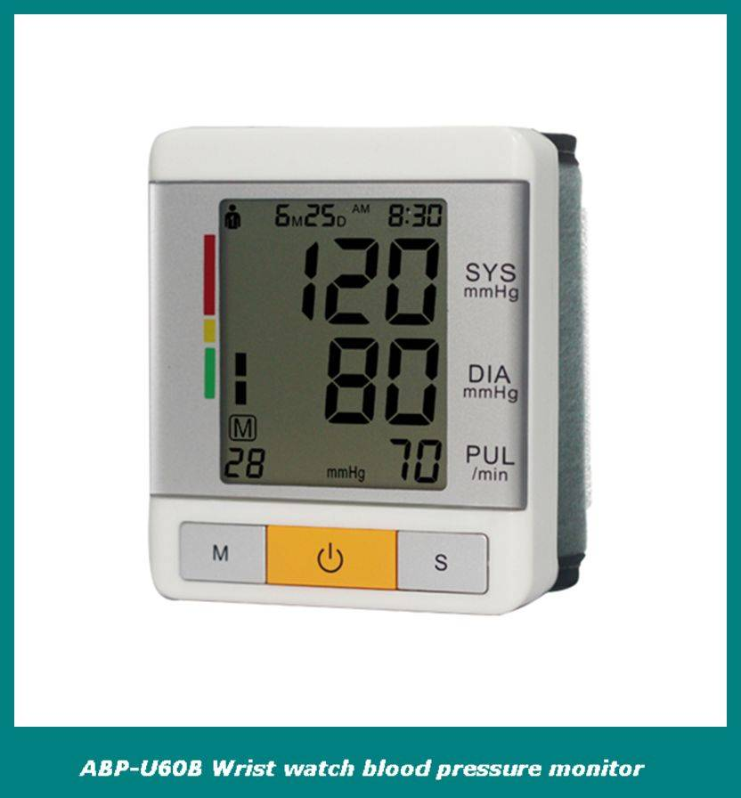 FDA and CE best seller wrist watch blood pressure monitor
