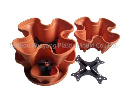Plastic Art Flower Pot Mould