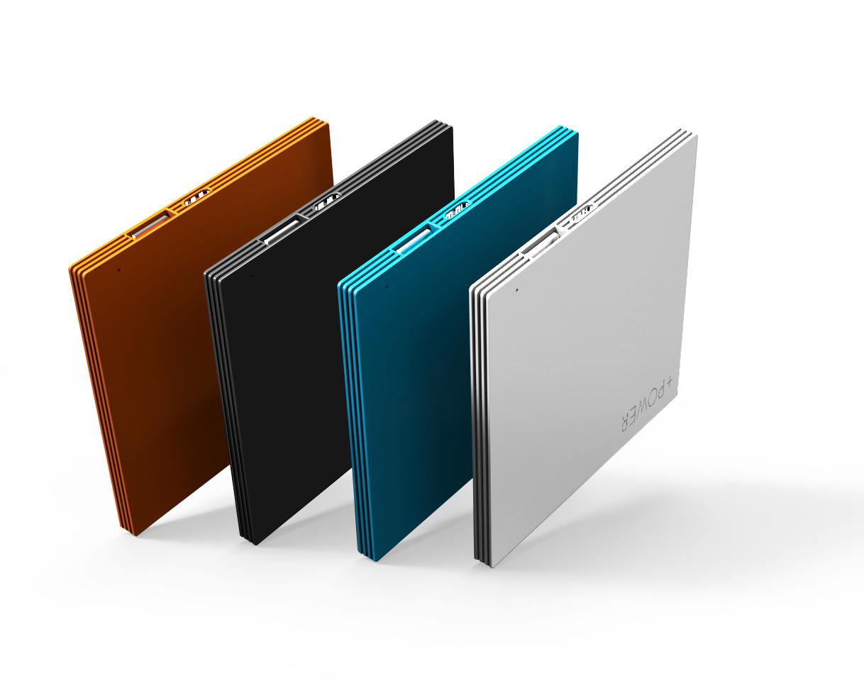 Super Slim Mobile Phone Power Bank 2600mAh Portable External Battery Charger Powerbank