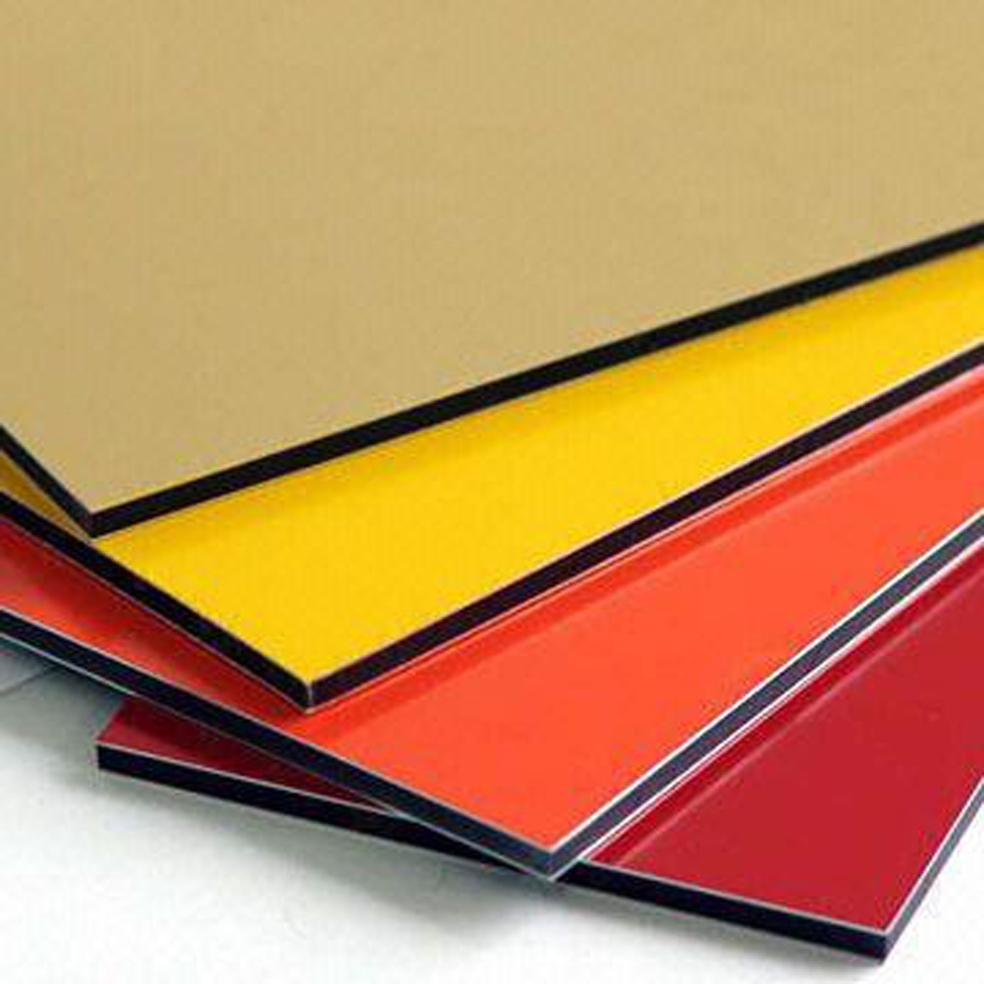 3mm 1220mm(W)x2440mm(L) PE painting aluminum composite panel for interior decorative material ACP