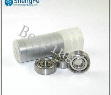 8x22x7mm S608ZZ stainless steel ball bearings