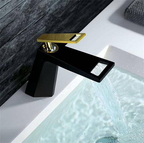 Black mixer stainless tap basin faucet and bathroom vanity cabinets from china