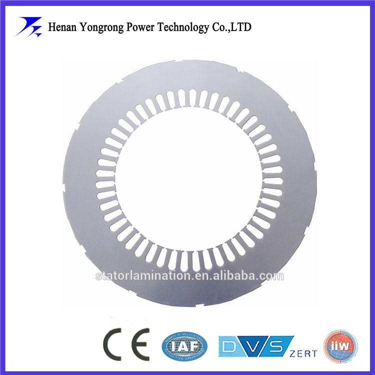 Rotor and stator lamination for HV motor
