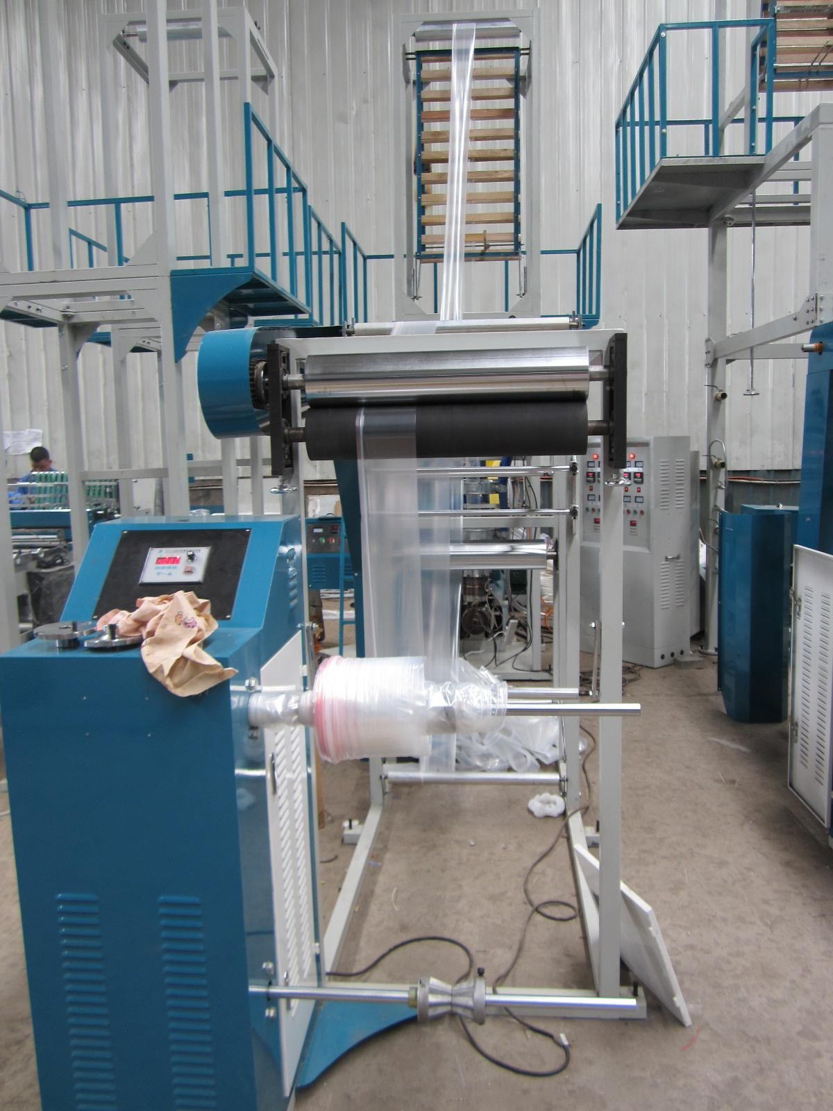 Zipper Lock Bag Blown Film Machine