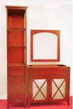 Super Quality MDF Lacquer Bathroom Cabinet
