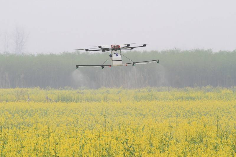 Professional Agriculture Pesticide heavy load UAV Drone/Crop Sprayer GPS mapping uav drone