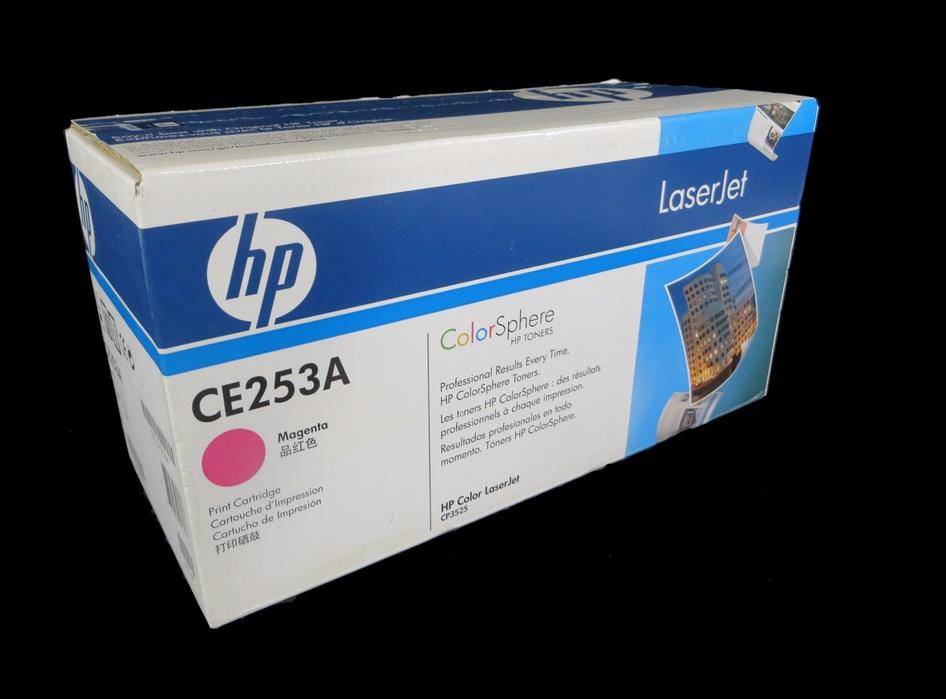 HP 504A CE232A Magenta Toner Print Cartridge Genuine New Sealed