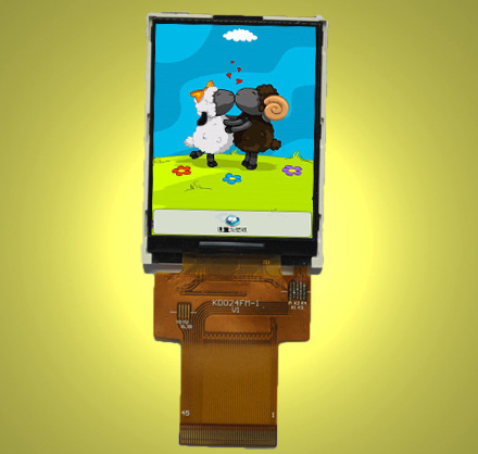 3.0 Inch IPS 4Line TFT LCD Module with 240X400 Resolution